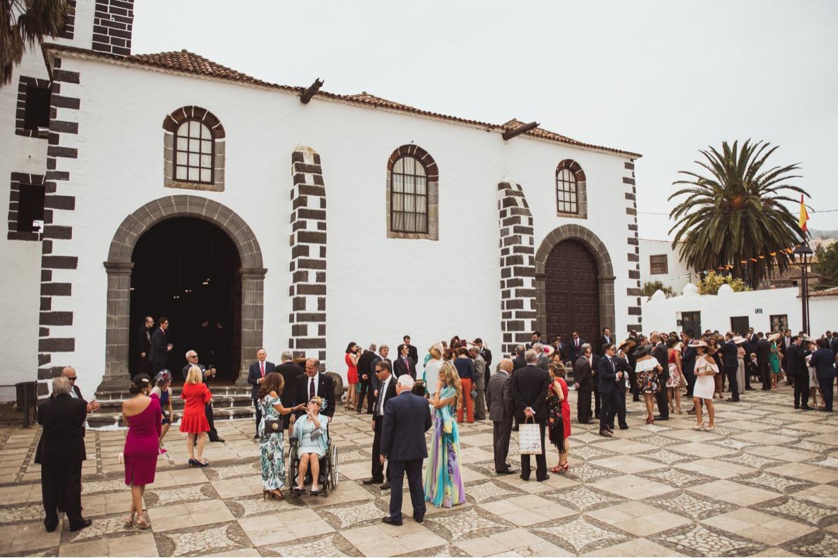 iglesia boda en Tacoronte