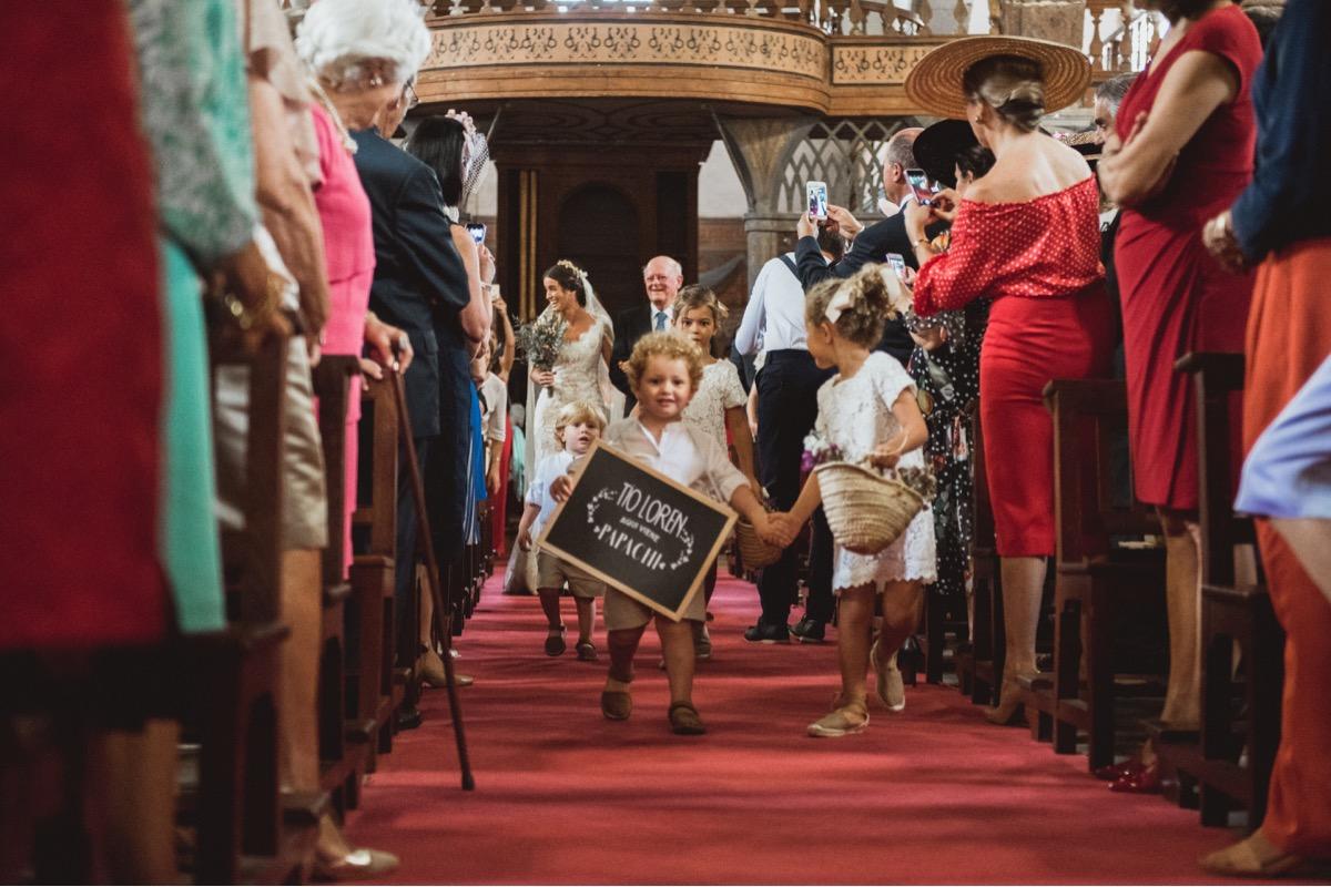 aqui llega la novia