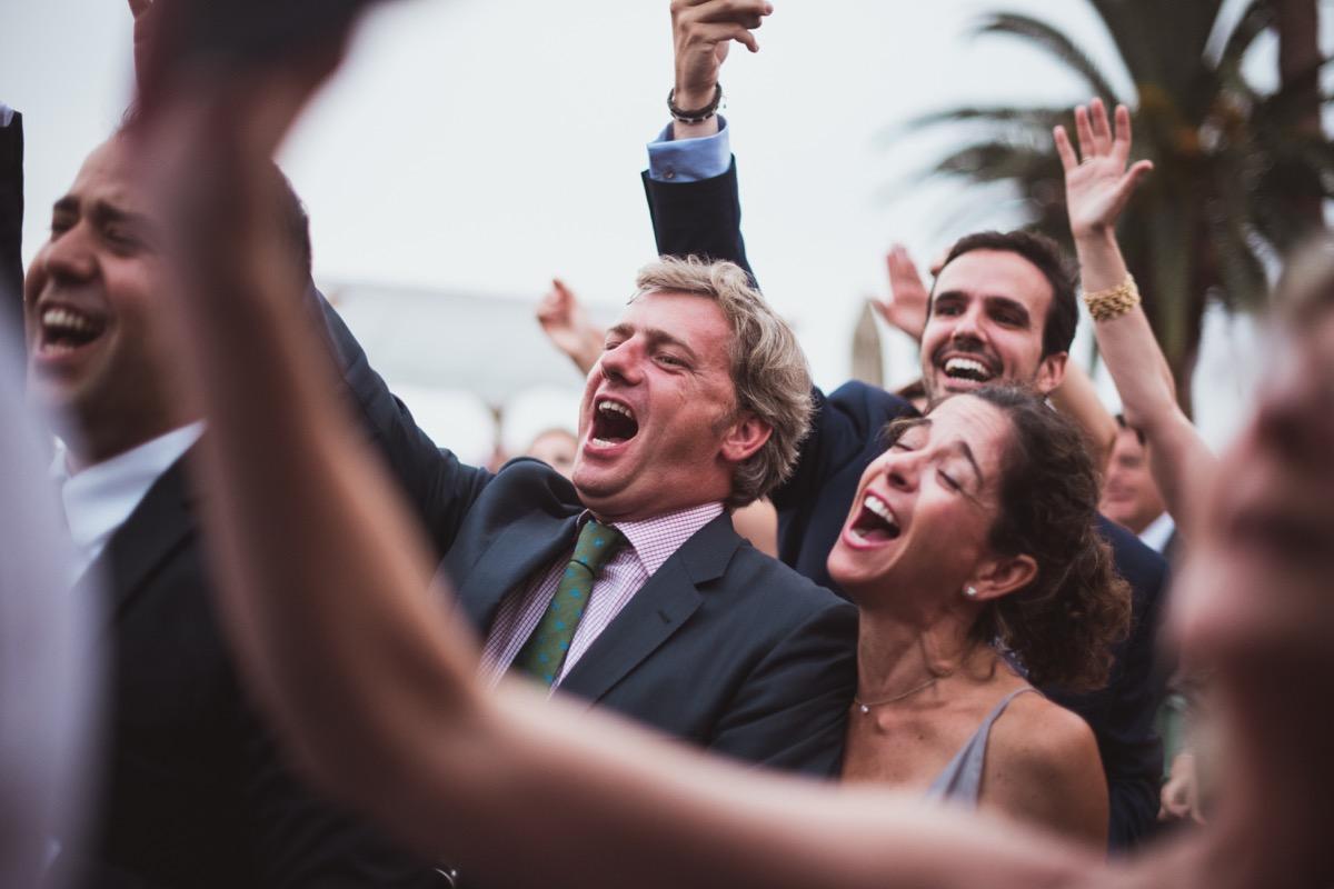 invitados de boda boda en finca la gañania
