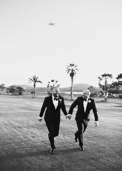 boda en campo Amarilla golf Tenerife