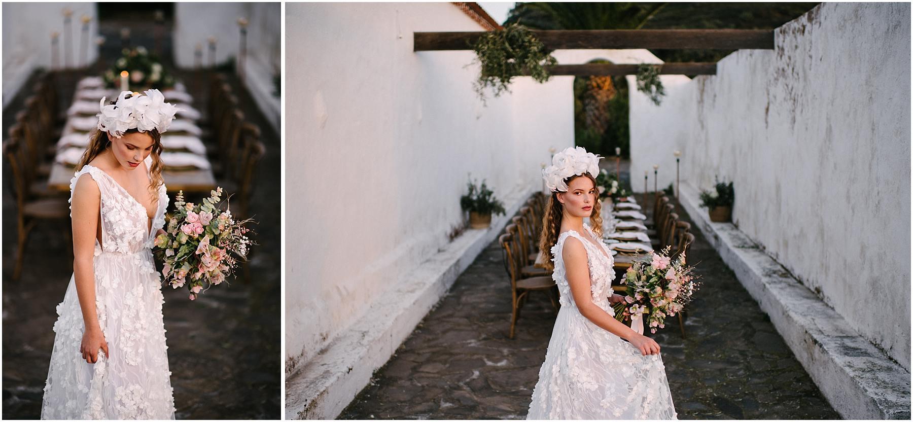 vestido inspiración de novias