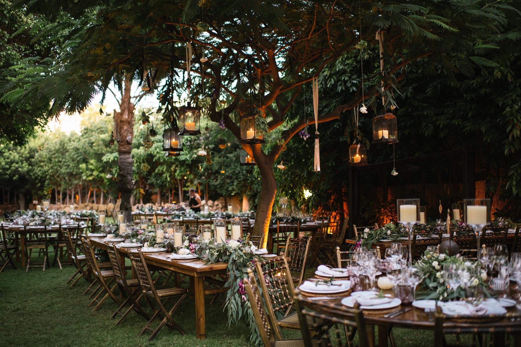wedding table at bahia del duque