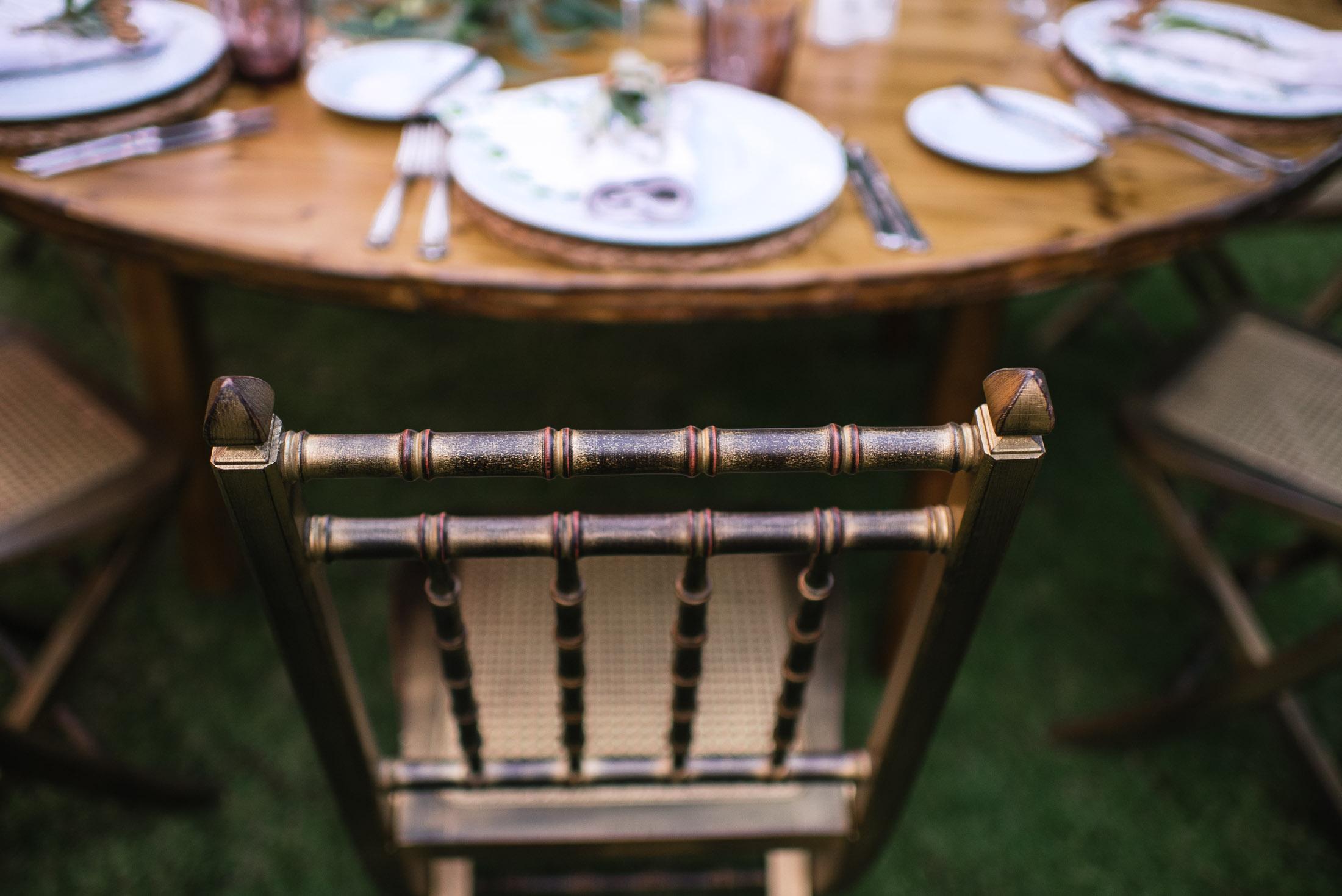sillas de boda bahia del duque