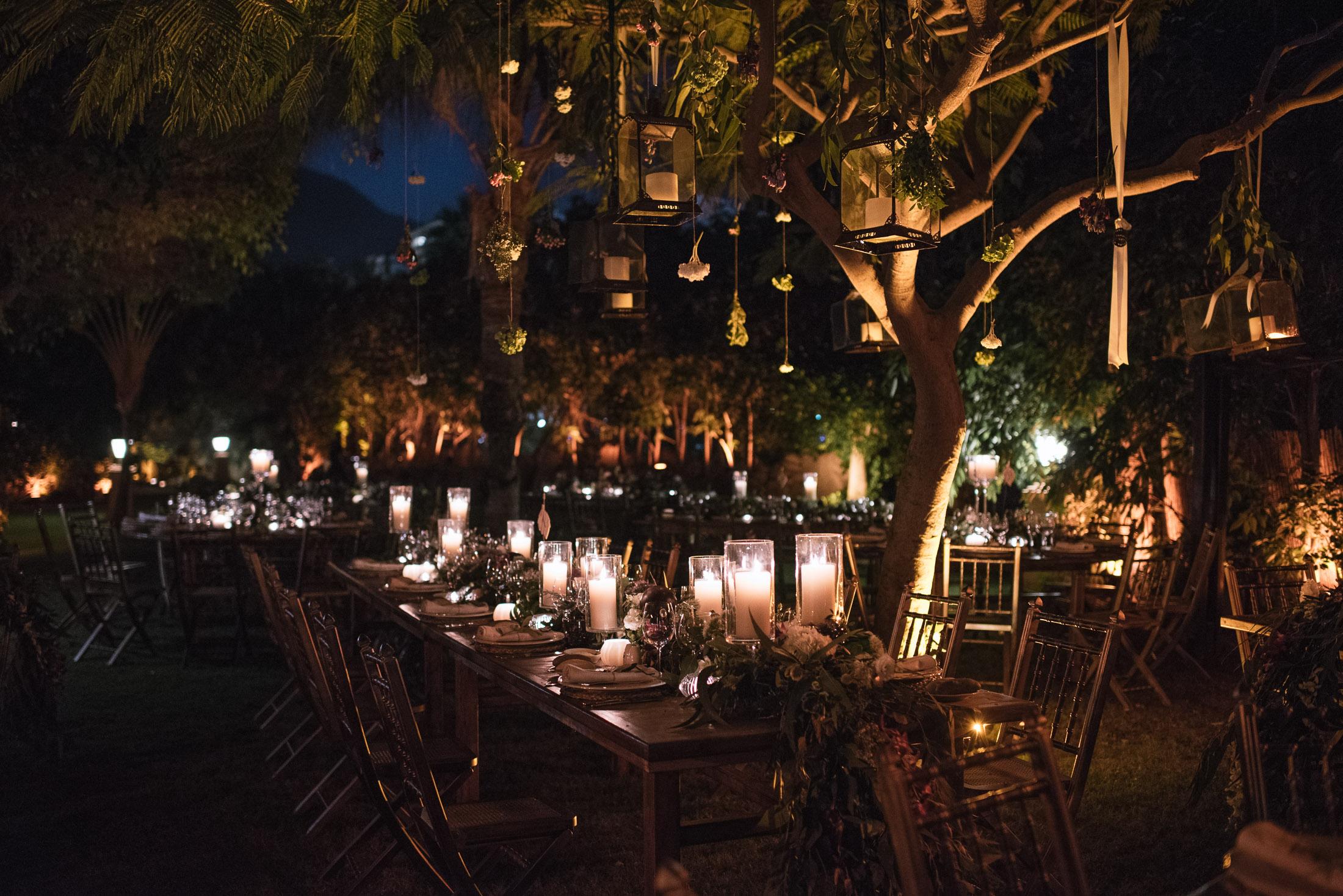 noche de bodas en el bahia del duque