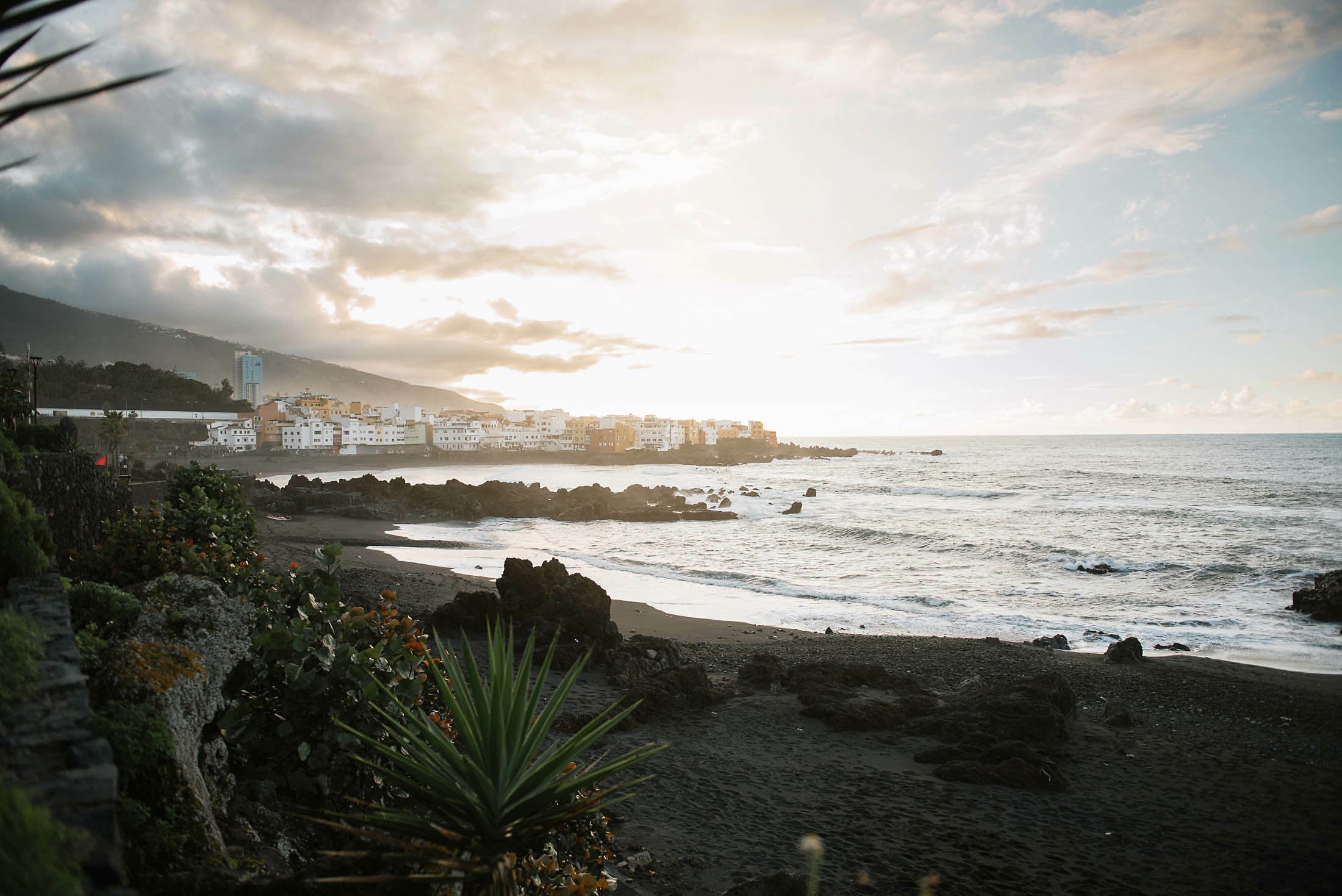 Pedida de mano en Playa Jardin- Puerto de la Cruz