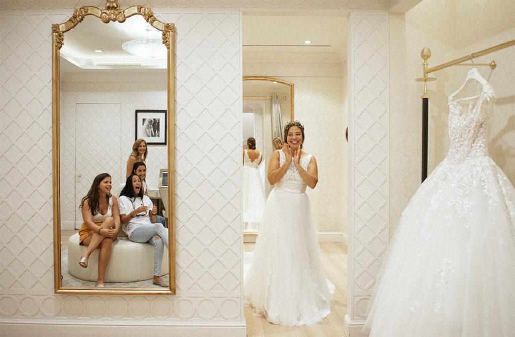 en bvusca del vestido de novia perfecto en Tenerife