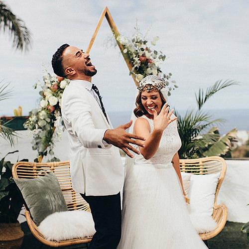 La sonrisa de Beatriz fotografo de bodas en Tenerife