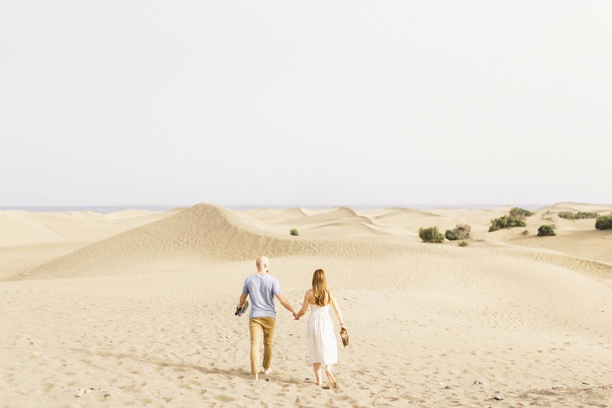 Preboda dunas de Maspalomas