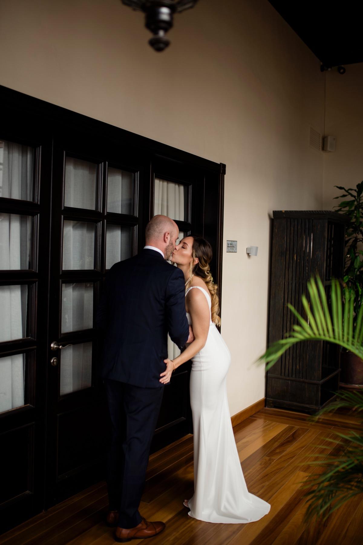 fotografo de bodas en Tenerife first look