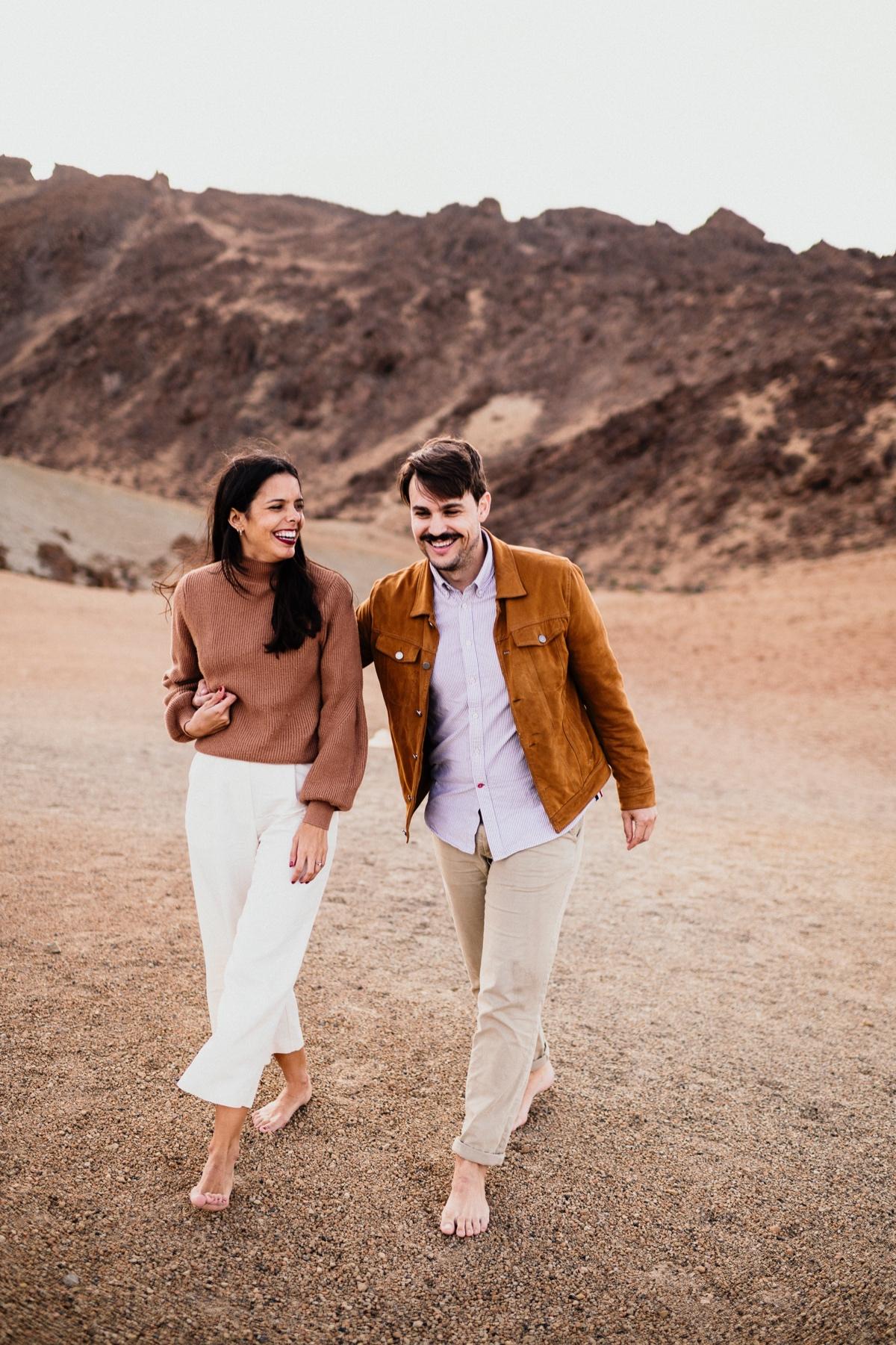 preboda en el Teide